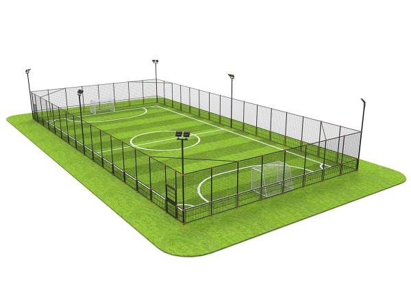 UHS-0202 钢格栅拼装笼式足球场