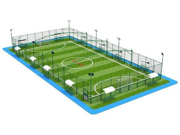 UHS-0203 波浪网拼装笼式足球场