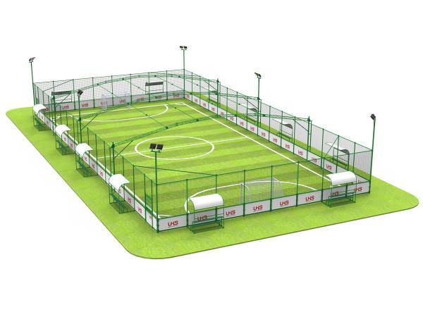 UHS-0201 国体认证钢结构笼式足球场