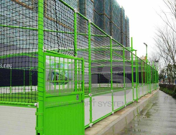浙江杭州万科世纪之光5人制笼式足球场