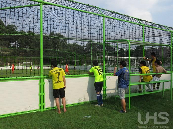 广州科技学院可移动5人制笼式足球场