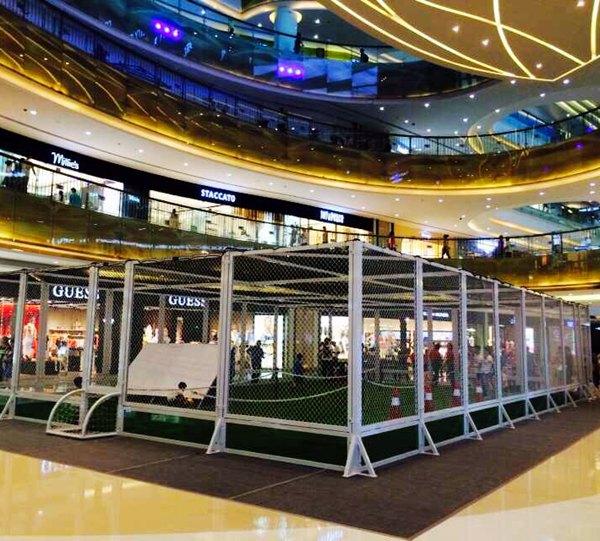 深圳可移动3人笼式足球场