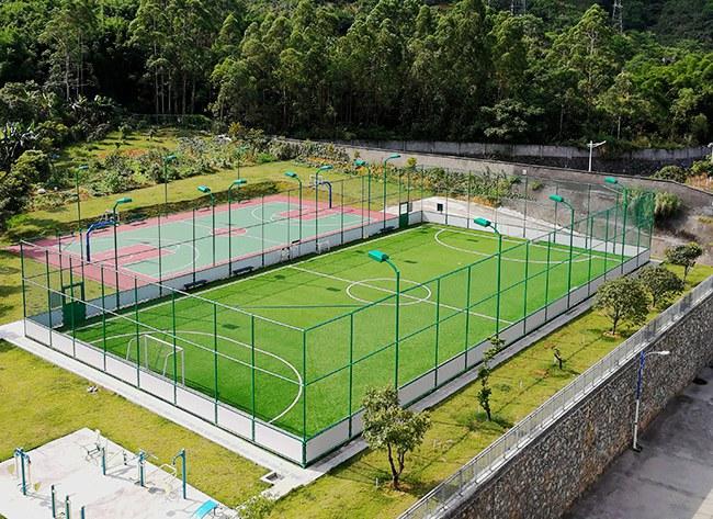 云浮联通公司笼式足球场
