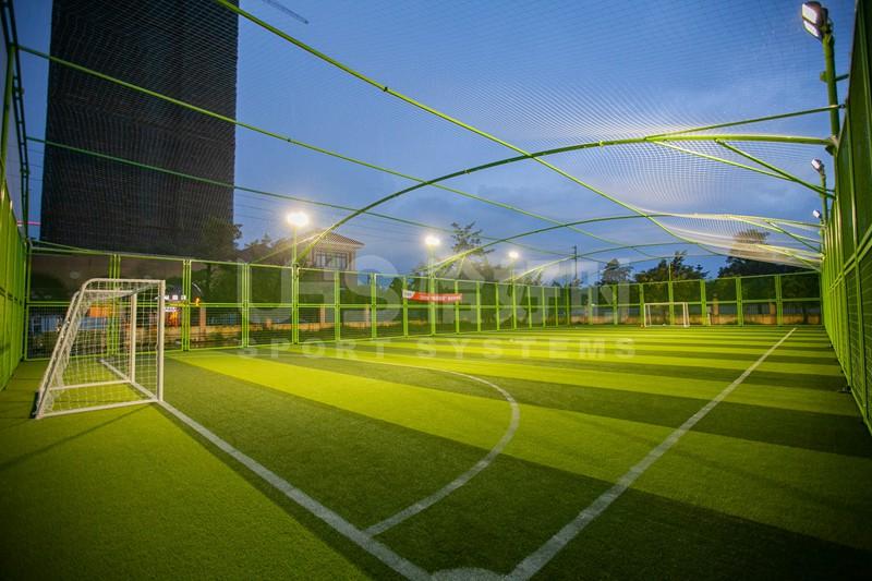 广东佛山三水区白坭体育馆5人制笼式足球场
