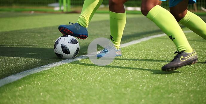 2018雷竞技 手机版时新型笼式足球场:解脱你的双脚!